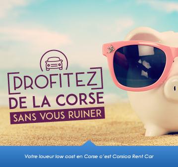 Location de voiture Low Cost en Corse c'est Corsica Rent Car