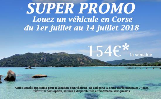 Offre promo 154€ par semaine